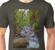 Columbia. Cocora Valley. River. Unisex T-Shirt