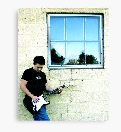 Lead Guitar Canvas Print