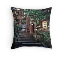 Shinto Shrine Kyoto, Japan Throw Pillow
