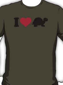 I love turtle T-Shirt