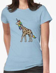 Girafficorn Womens Fitted T-Shirt
