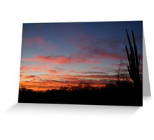 Fingers Tickle the Sky Greeting Card