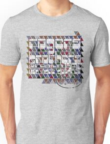 modern usa ny by rogers bros Unisex T-Shirt