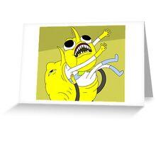 Lemongrab Greeting Card