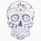 Purple Skull by adjsr
