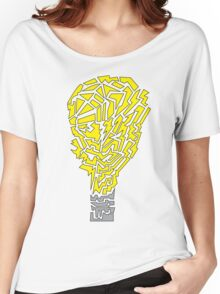 (Shapes) Light Bulb Women's Relaxed Fit T-Shirt