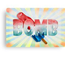 bomb Canvas Print