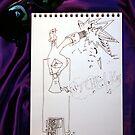 Petits Dessins Debiles - Small Weak Drawings#36 by Pascale Baud