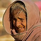 Old gypsy women by inge