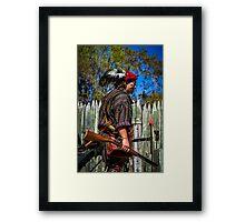 The Indian Warrior Framed Print
