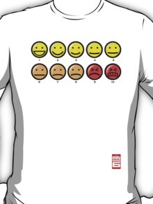"""On a scale of 1 to 10, how would you rate your pain?"" T-Shirt"