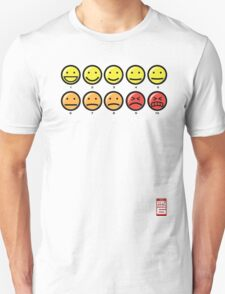 """""""On a scale of 1 to 10, how would you rate your pain?"""" T-Shirt"""