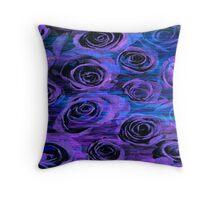 Perpetually Purple Throw Pillow