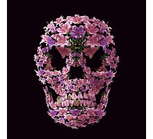 Lilly Skull Photographic Print