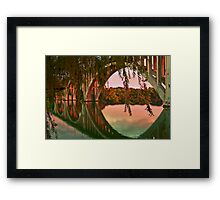 days end.... Framed Print