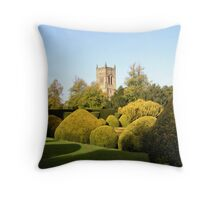 Elvaston Parish Church Throw Pillow
