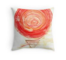 Energy of the East Wind Throw Pillow