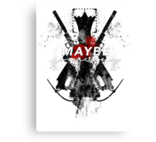 Maybe Someday? Canvas Print