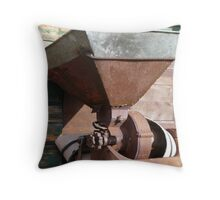 Grain Crusher Throw Pillow