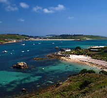 Tresco Channel by Roger Butterfield