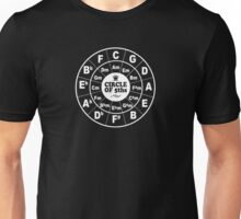 Circle of Fifths dark Unisex T-Shirt