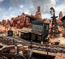 The Wild West Scene by Scott Smith