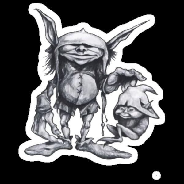 goblins and trolls by shellyb