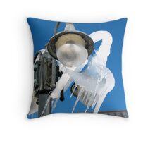 Frozen lamp Throw Pillow