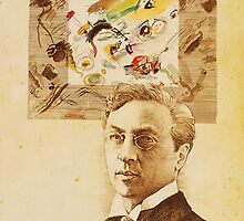 """Wassily Kandinsky"" by Pavel Pop"