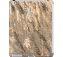 Gold Backlit Reeds iPad Case/Skin