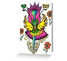 Joy, Blessings Greeting Card