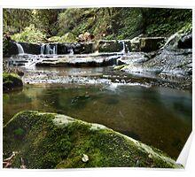 Rock Pool - Kangaroo Valley, NSW Poster