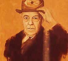 """René François Ghislain Magritte"" by Pavel Pop"