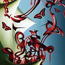 Red Butterflies by Mark Devas