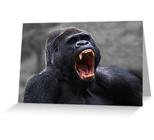 THE YAWN Greeting Card