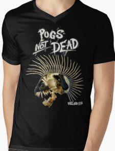 PUGS NOT DEAD! Mens V-Neck T-Shirt