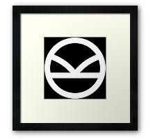 Kingsman Secret Service - Logo Framed Print