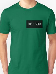 John 3:16 Pocket Tee Unisex T-Shirt