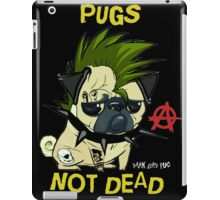 pugs not dead iPad Case/Skin
