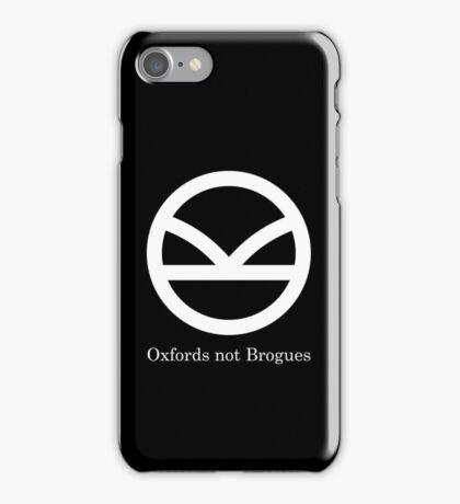Kingsman Secret Service - Oxfords not Brogues iPhone Case/Skin