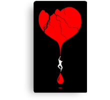heart climber Canvas Print