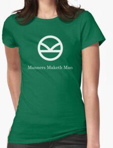 Kingsman Secret Service - Manners Maketh Man Womens Fitted T-Shirt
