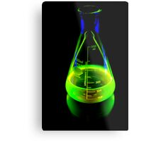 Beaker of  Sodium Fluorescein Metal Print