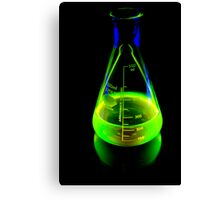 Beaker of  Sodium Fluorescein Canvas Print