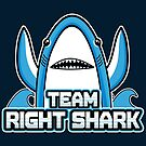 Team Right Shark by fishbiscuit