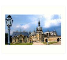 Château de Chantilly, Chantilly, France Art Print