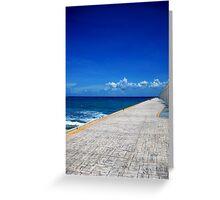 The Promenade Greeting Card