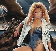 Lisa Hartman  by Van Cordle