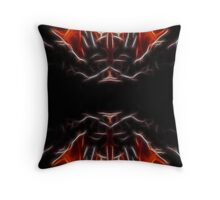 devilish fire Throw Pillow
