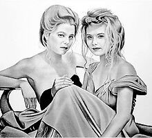 Kasey and Kelly by Van Cordle